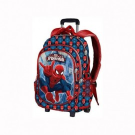 MOCHILA CON RUEDAS SPIDERMAN POWER