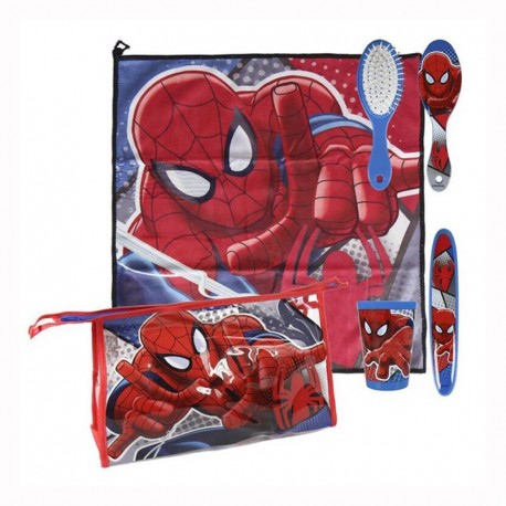 SPIDERMAN SET ASEO ESCOLAR