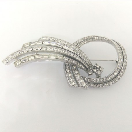 BROCHE BRILLANTES 6341/RH/5