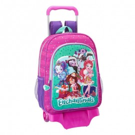 MOCHILA CON RUEDAS ENCHANTIMALS 42 CM