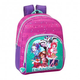MOCHILA ENCHANTIMALS INFANTIL 34CM