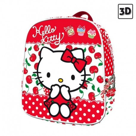 MOCHILA 23 CM HELLO KITTY KIDS