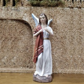 ANGEL 17 CMS EN PIE LIENZADO